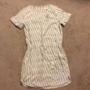 LOFT NWT, Cotton Drawstring Dress with Pockets 👗